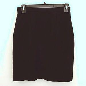 Laura Scott Women's Size 14 Black Skirt
